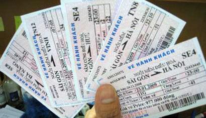 Vé tàu lửa dịp tết - mua vé tàu hỏa tết Đinh Dậu 2017